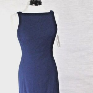 Dark Navy Blue Maxi Dress by Nicole Miller Size 10